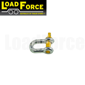 8mm rated bow shackle 750kg