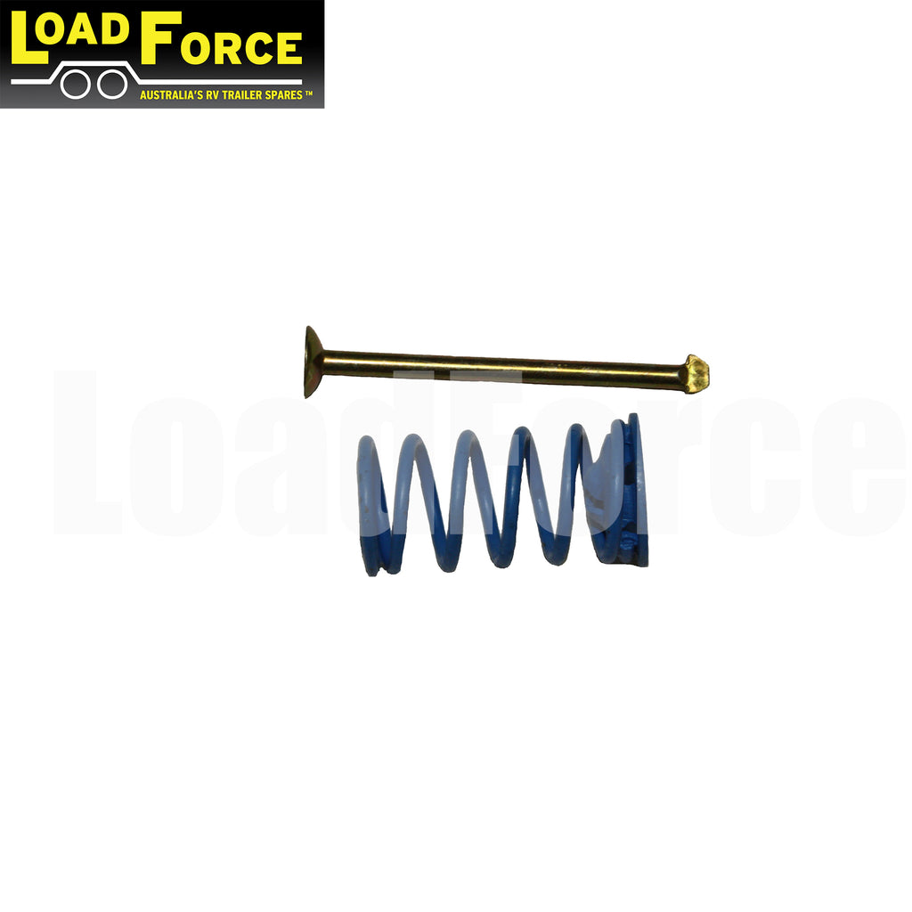 electric brake retaining pin spring