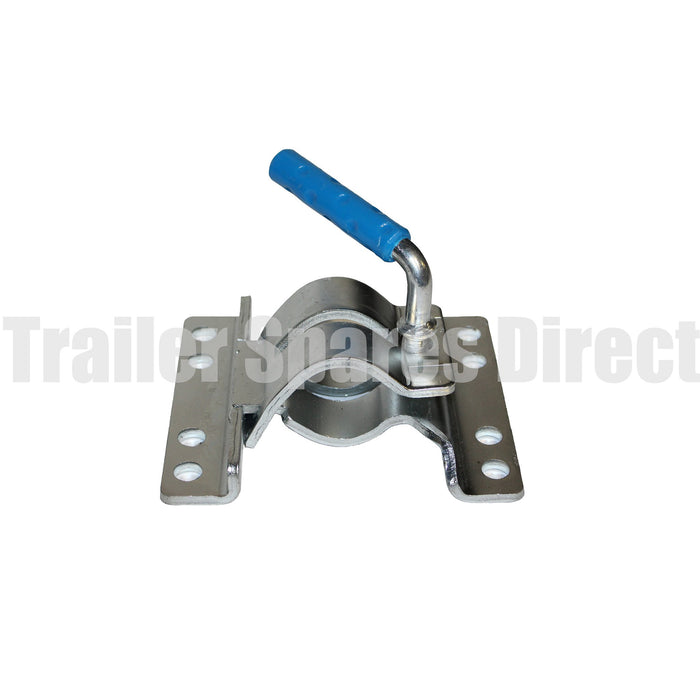 Fixed clamp with 8 holes for U-bolts