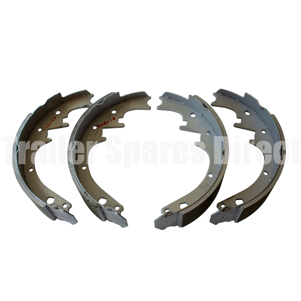 10 inch hydraulic brake shoes dacromet coated set of 4