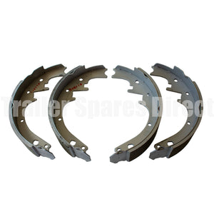 10 inch hydraulic brake shoes set of 4