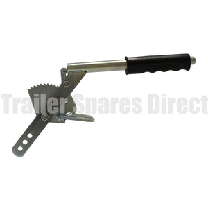 ratchet press button handbrake top mount