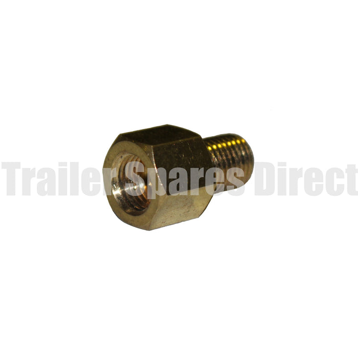 Brass hydraulic union for master cylinder, Trigg and ALKO calipers