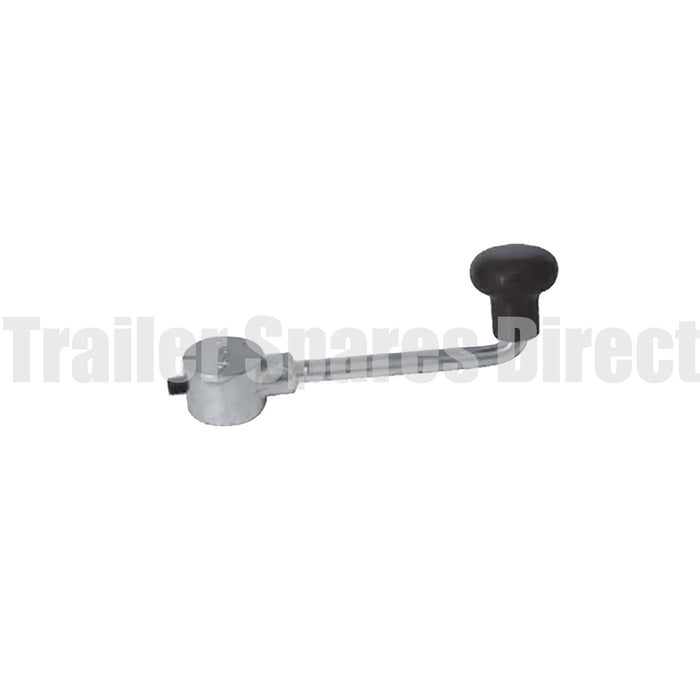 Jockey wheel handle - grub screw type