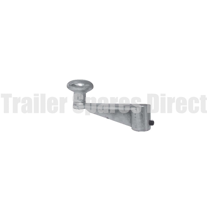 Jockey wheel handle - heavy-duty roll pin