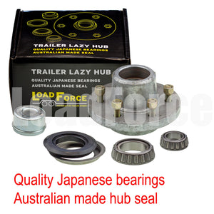 LoadForce Hub assy 6 stud galvanised USA 25580/15123 Japanese bearing