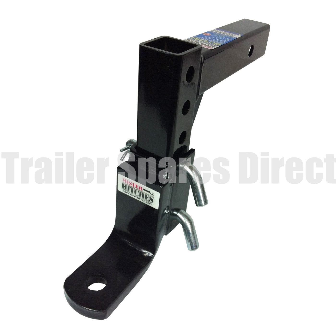 Adjustable Tow Hitch >> Mister Hitches Heavy Duty Adjustable Towbar Receiver Hitch Tow Ball Mount 16 Stage