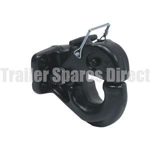 pintle hook 10 tonne black powder coat