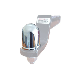 Chrome 50 mm tow ball cover