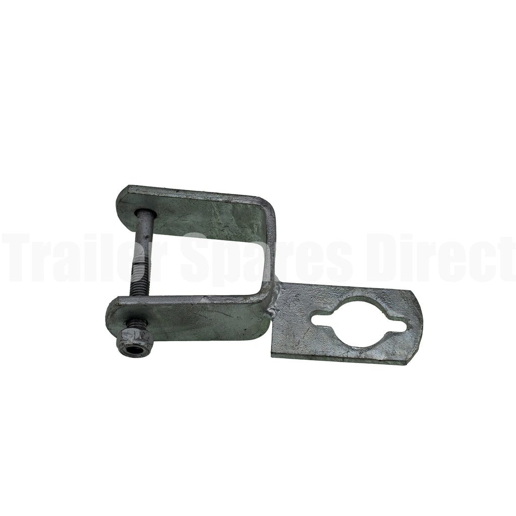 Motor support keyway clamp on 2 inch