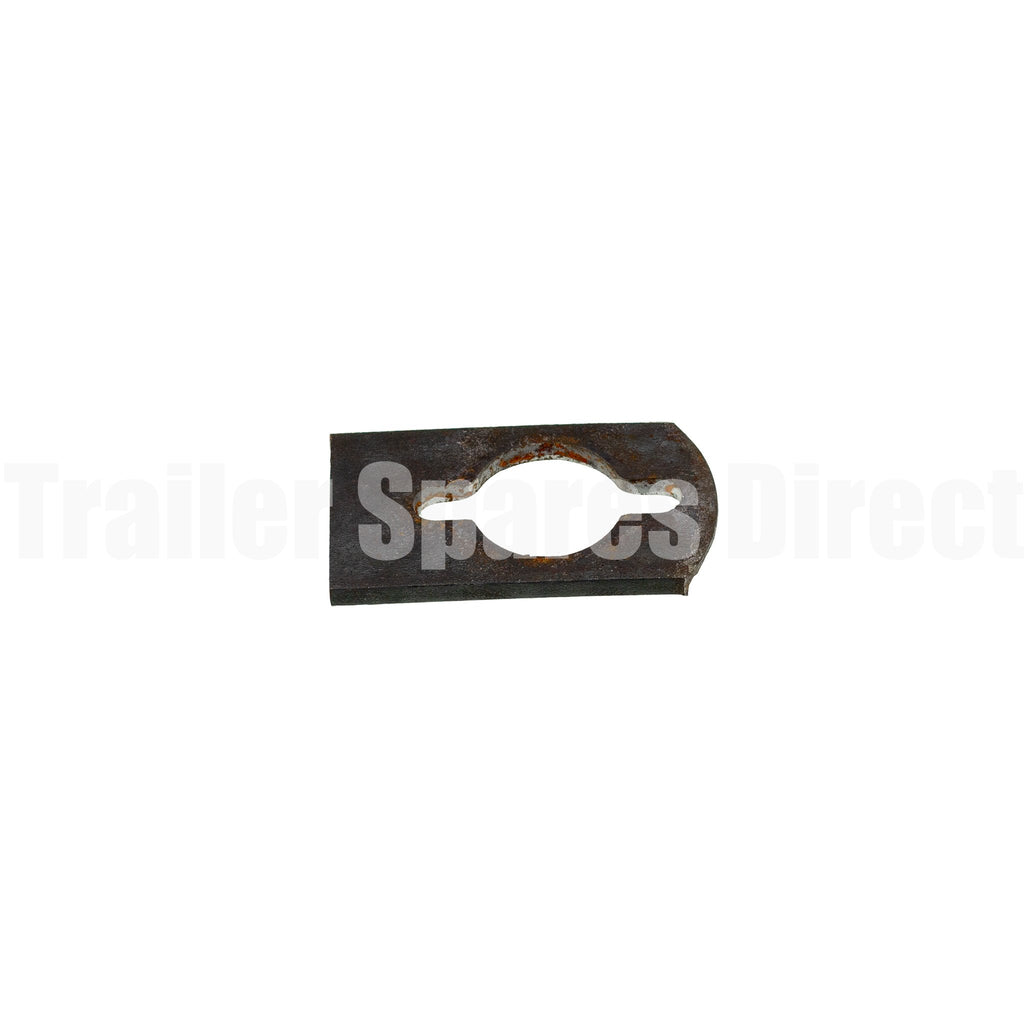 Motor support key way - weld-on