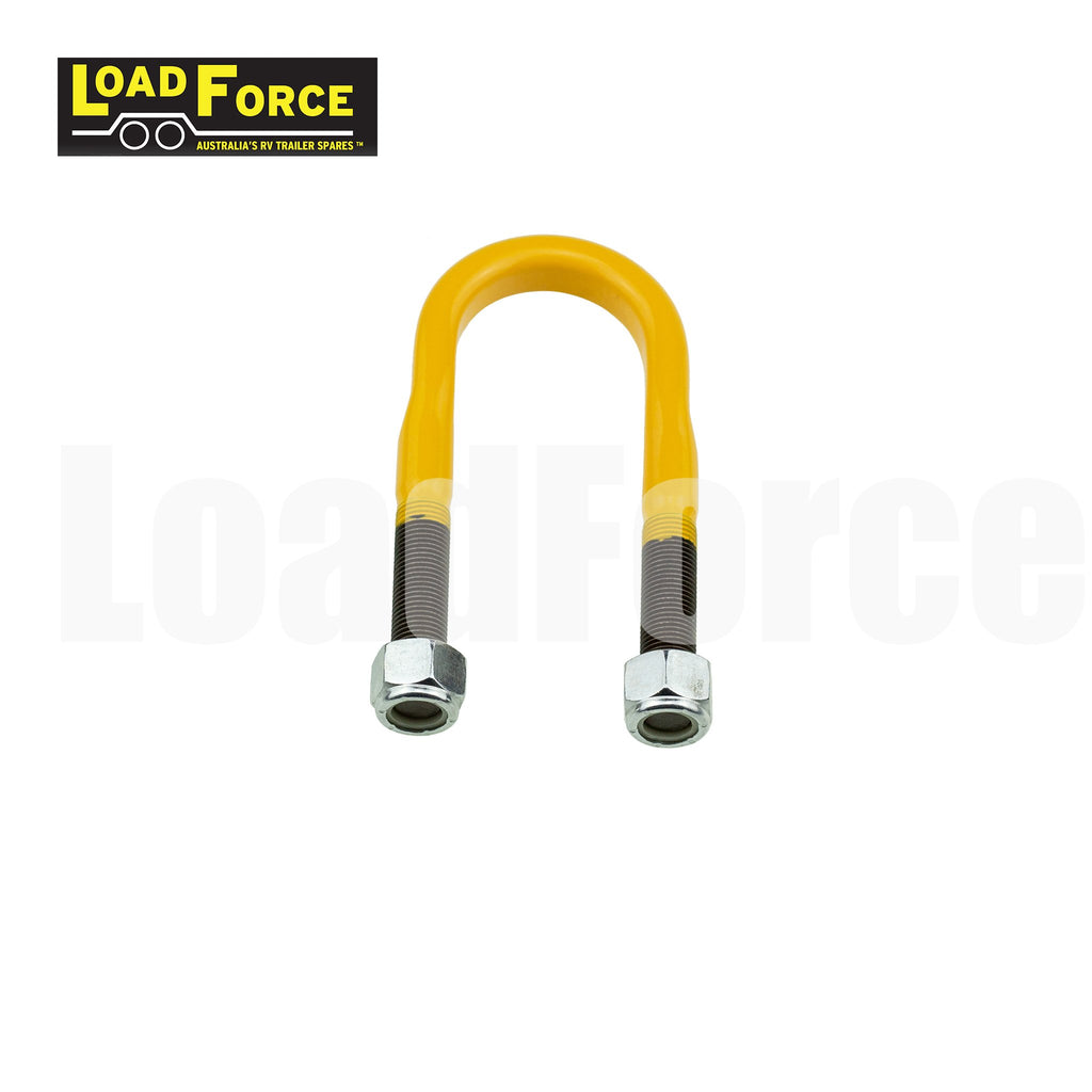1/2 inch U-bolt 39mm round 115mm long LoadForce