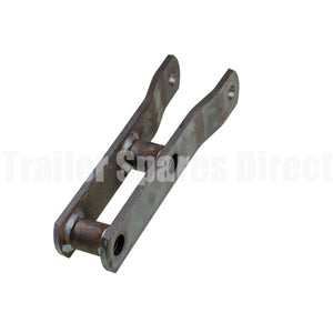 Heavy duty rocker arm straight with brass bush for 60mm - 18mm pin