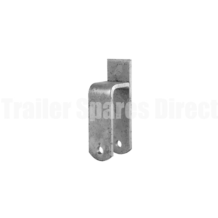 Rocker centre perch heavy duty galvanised for 60mm trailer springs - use with 18mm pin