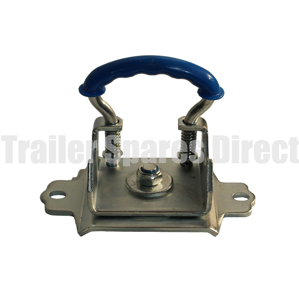 Swivel clamp with 2 holes