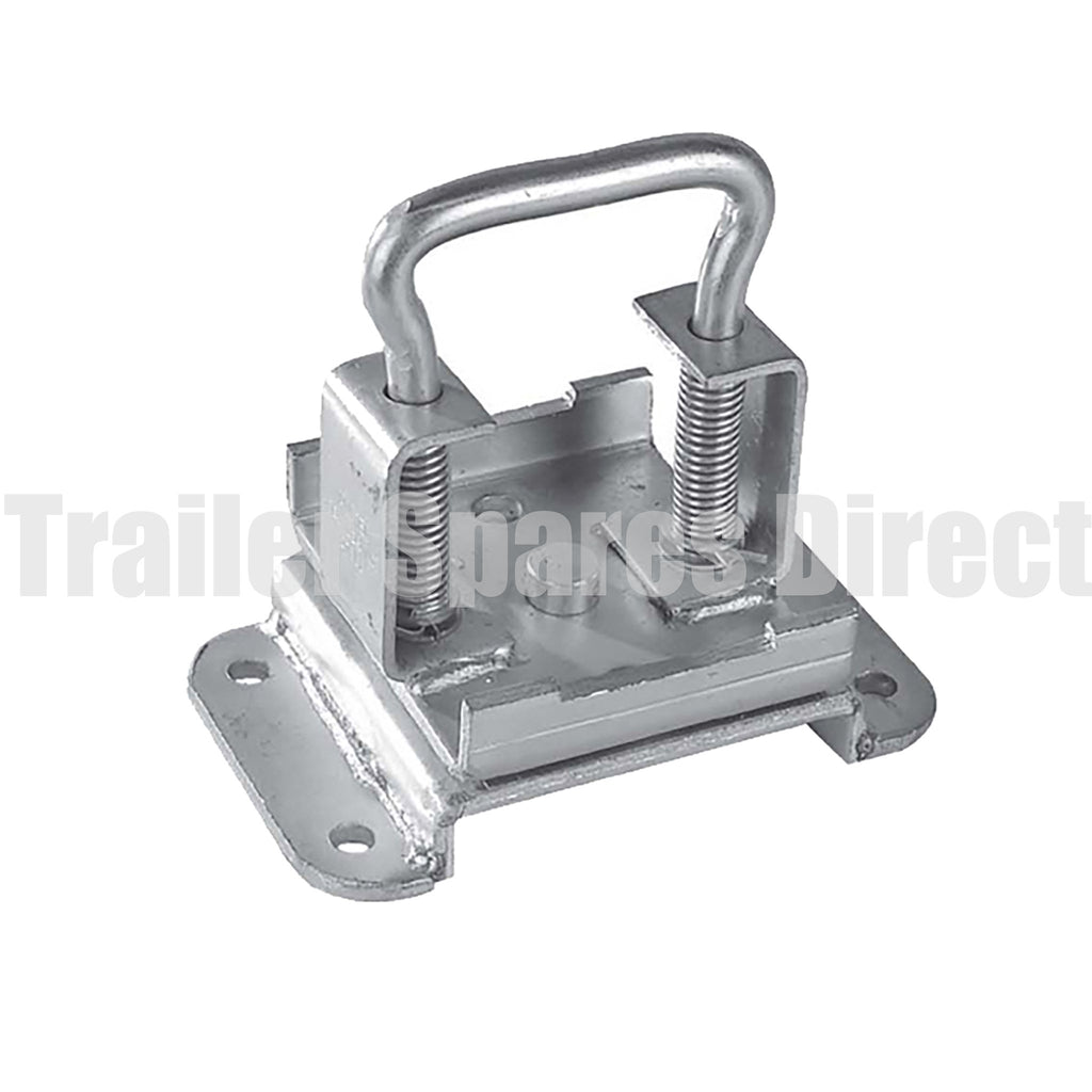 pin locking swivel bracket for stands
