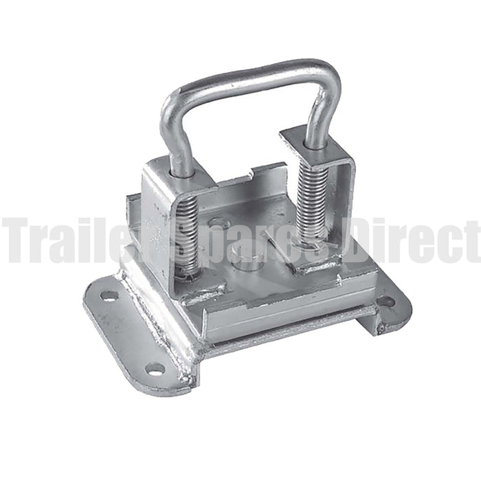 Pin locking swivel bracket for heavy-duty adjustable stands - 70mm tube