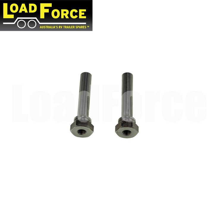 Slide pin stainless steel 1 pair for LoadForce and PBR calipers