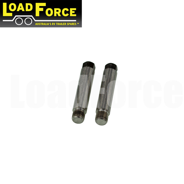 Slide pin bolts pair for Tie Down Engineering 46304 caliper