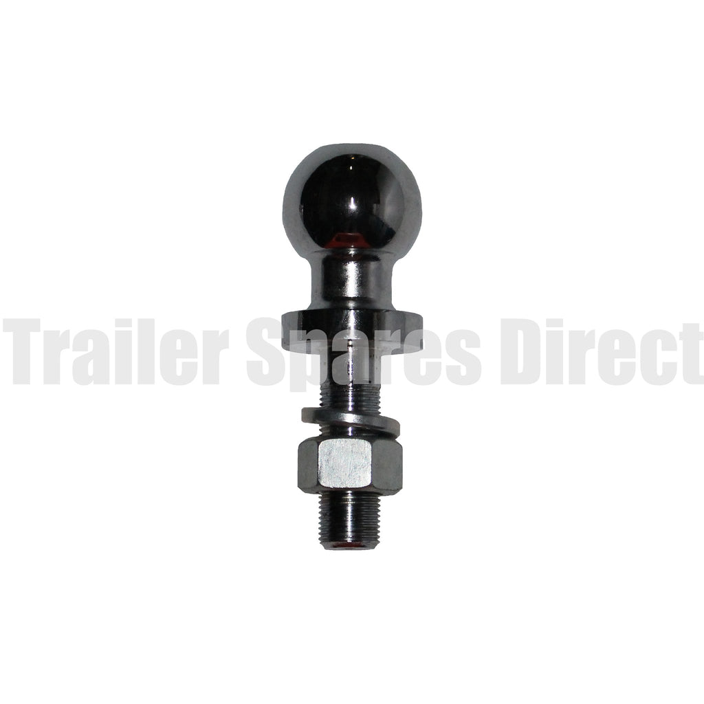 50mm tow ball extended shank 80mm long - 2500kg