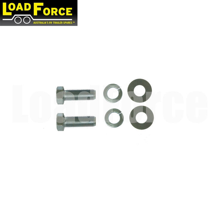 Bolt kit for mounting UFP caliper