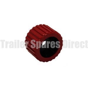 wobble roller ribbed red