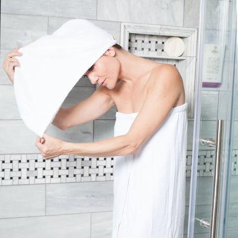 Daily Hair Towel Wrap By Daily Concepts Luxury Spa Goods Daily