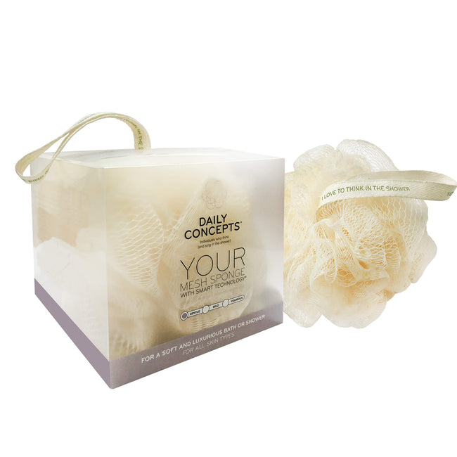 Daily Mesh Sponge by Daily Concepts, Luxury Spa goods