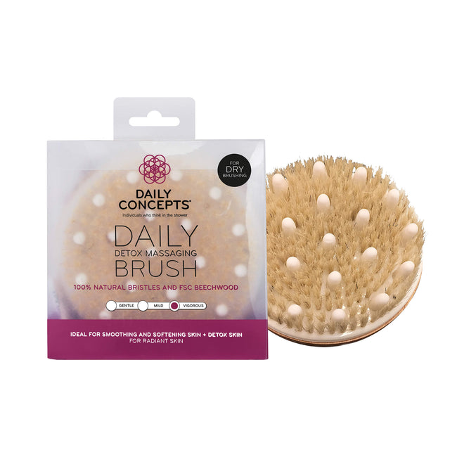 Brush & Detox Poosh Bundle by Daily Concepts luxury Spa goods