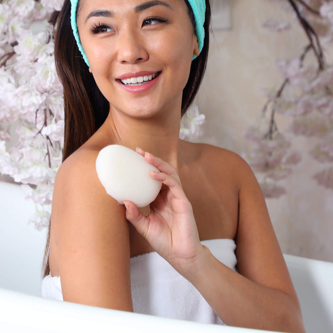 Daily Konjac Sponge - Pure Daily Concepts - Luxury Spa Goods