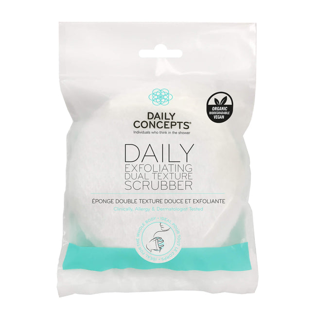 Daily Exfoliating Dual Texture Scrubber