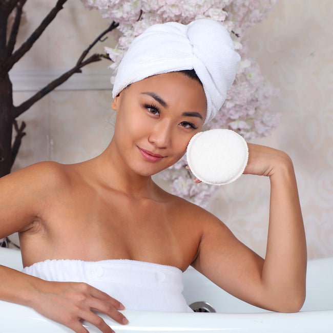Daily Exfoliating Body Scrubber by Daily Concepts luxury Spa goods