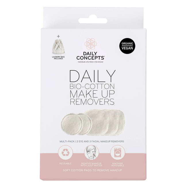 Daily Bio Cotton Makeup Removers Daily Concepts Luxury Spa Goods