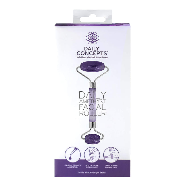 Daily Amethyst Facial Roller Daily Concepts Luxury Spa Goods