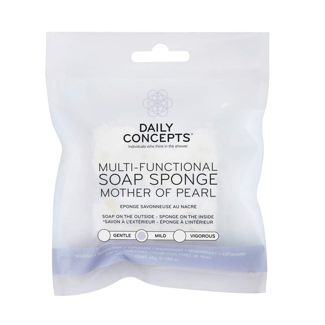 Multi-Functional Soap Sponge Mother of Pearl Daily Concepts