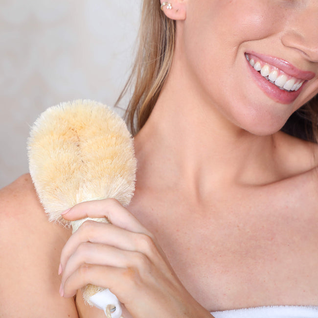 Daily Daily Sisal Body Brush by Daily Concepts luxury Spa goods