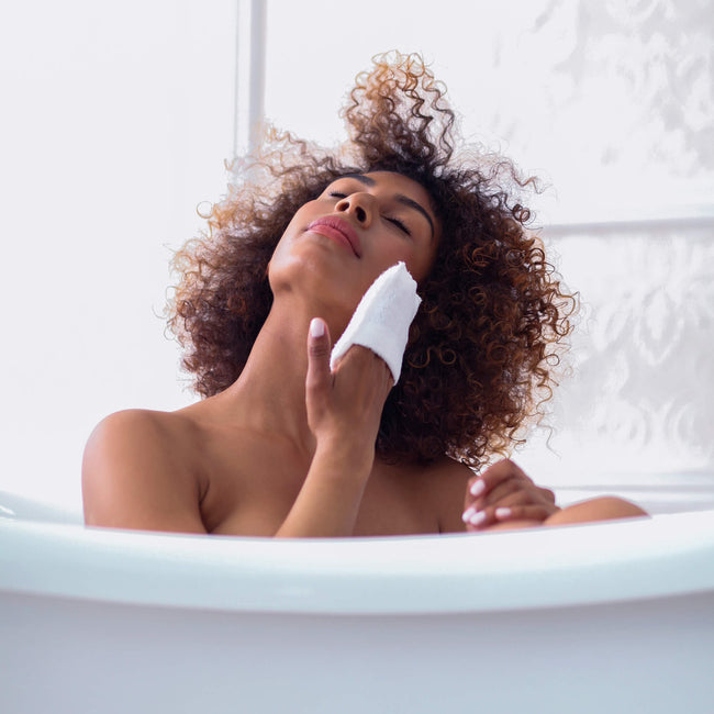 Daily Facial Micro Scrubber by Daily Concepts luxury Spa goods