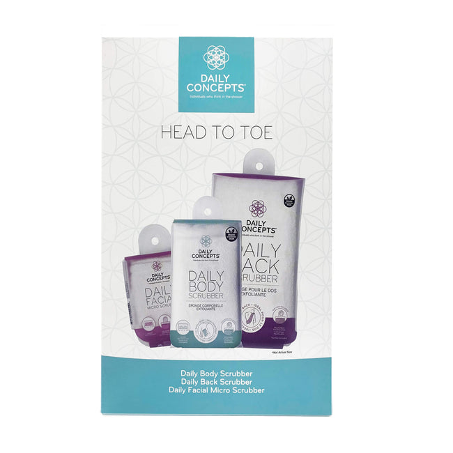 Head to Toe - Gift Set by Daily Concepts luxury Spa goods