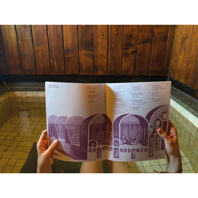 Hamam Magazine 1 Dedication Shower the world with love Daily Concepts