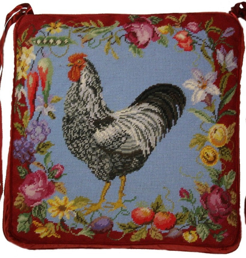 Needlepoint Chair Pad 2918 -18 x 18
