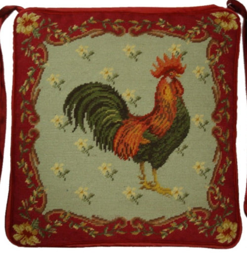 Needlepoint Chair Pad 2950 -18 x 18