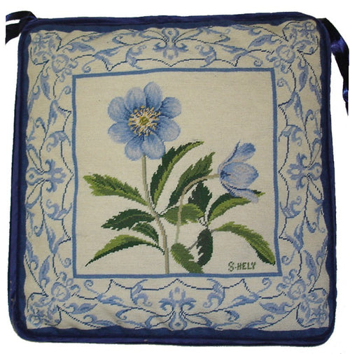 Needlepoint Chair Pad 3882 -18 x 18
