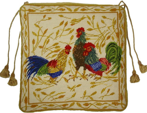 Needlepoint Chair Pad 7501 -18 x 18