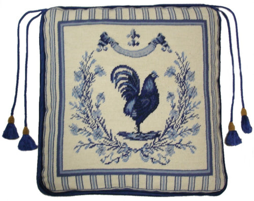 Needlepoint Chair Pad 7712 -18 x 18