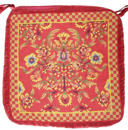 Needlepoint Chair Pad 9110 -18 x 18