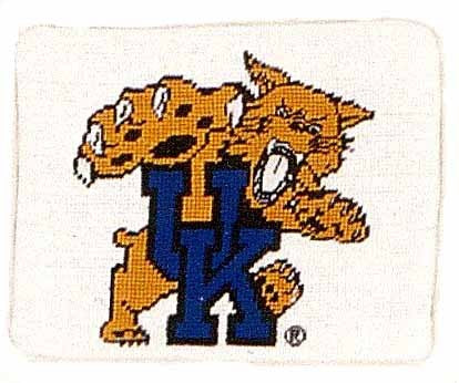 AA- U of Kansas - Needlepoint Pillow 8x10