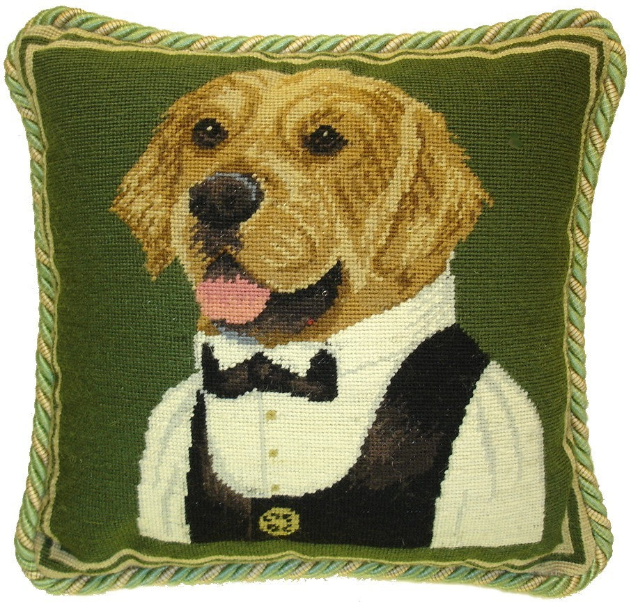 HKHHP0430C - Needlepoint Pillow 11x11