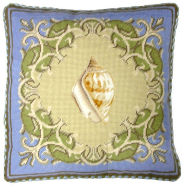 HKHHP2806C - Needlepoint Pillow 17x17