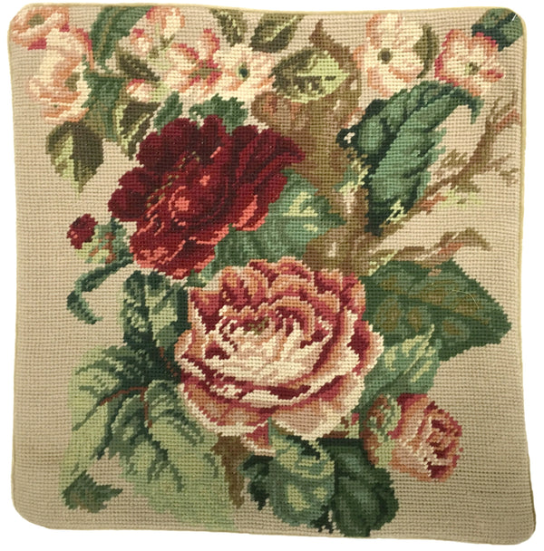 HKHHP3066 - Needlepoint Pillow 14x14