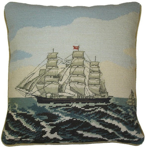Needlepoint Pillows - HKH - -  Design  - HP3220 - 14 by 14 in.
